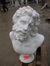 sculpté à la main personnalisé statue buste en marbre