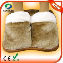 Ly-sh01 confortevole e lavabile elettrico pantofole scaldapiedi