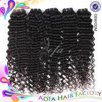 Good selling 6A grade shedding free malaysian virgin deep wave hair