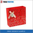 Red paper bag gift shopping bag