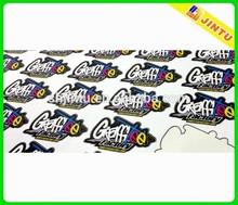 Custom vinyl sticker roll