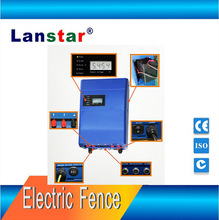 Top wall solar electical fence charger &controller 5joule for house security--Lanstar