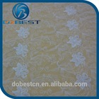 Chemical embroidery design african velvet lace fabric