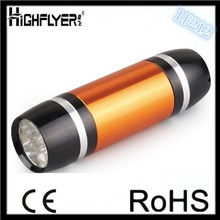 Mini 9 LED Handy Flashlight Torch For Camping Sporting