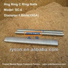 decrative staple & furniture hardware c nails