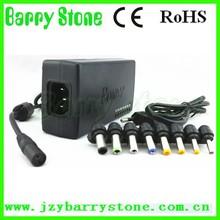 waterproof led power supply 3 flat pin adaptor plug,mini universal laptop adapter