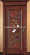Wholesale Price Modern Main Door Wood Carving Design