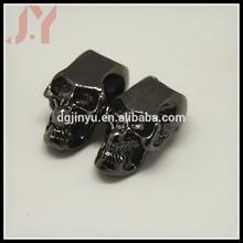 popular beautiful gunmetal skull for paracord bracelet wholesale