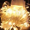 Customized decorative holiday led patio string lights