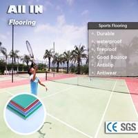 Long life cycle enviroment friendly flooring soccer coaching equipment