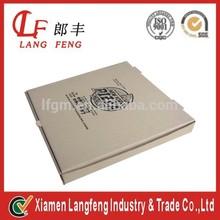 Custom rectangular Recycle kraft paper pizza box