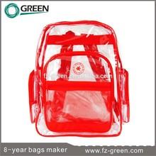 Backpack Bag Handbag PVC Plastic