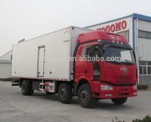 YOGOMO YJM5253XLC FAW J6M 6*2 Horsepower:240hp Refrigerated Trucks for Sale