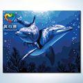 golfinho pintura a óleo lona zhuhai truehearted mulheres nuas de fotos na china