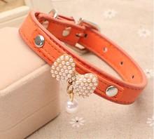 beatiful jewelry pet collar,Pet collar fashion charm cat collar