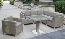 Outdoor garden sofa and dinning