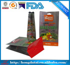 Technical advantages!!Eight edge-sealing kraft paper bag for Dried vegetable