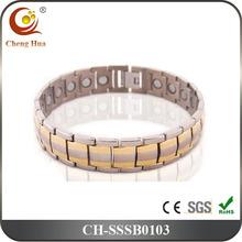 Single Line Magnetic balance Power Bracelet For Men