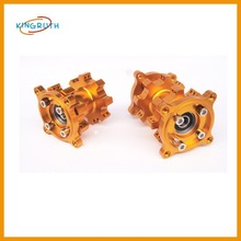 low price gold CNC atv front wheel hub for sale