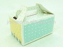 Customized birthday cake boxes packing