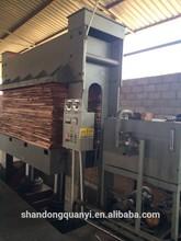 Quanyi cold stamping machine price/door cold press price/woodworking machine price