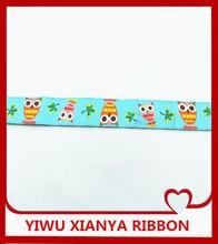 jacquard ribbon of dog belt/owl ribbon/Factory directly sale jacquard ribbon /