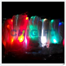 Party Decoration Rainbow LED Christmas Gloves