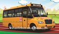utiliza 7m 37 amarillo asientos del autobús escolar para la venta