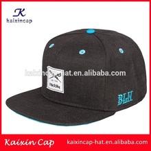 OEM high quality fashion blank hot sale custom woven label design your own logo snapback cap producer