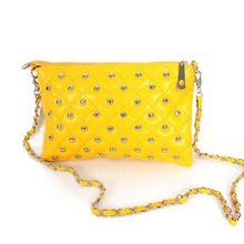 Yellow Shoulder Bag for Student