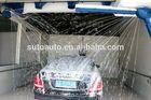 Automatic car washing