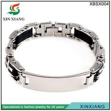 2014 fashion jewelry Men's Bracelet high quality bracelets energy stainless steel jewelry