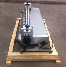 23 inch desktop small manual adhesive gluing machine
