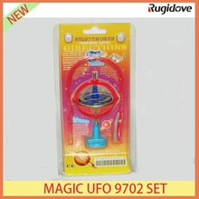 Flashing magic UFO 9702 set spinning top gyro christmas gift
