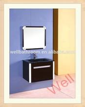 Modern bathroom shaving cabinet with mirror 9105