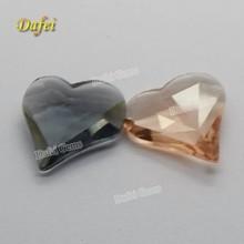 Cheap Irregular Heart Shaped Glass Gems
