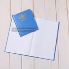 customized hardcover notebook, writing pad, hardcover plain notebook