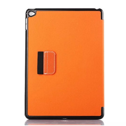 Leather Stand Case for Apple iPad 6 , For iPad Air 2 Jeans Loop Hole Case