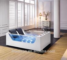 Hot Sale Waterproof Massage Shower Small Square Bathtub