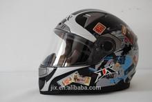 2014 ECE/DOT double visor JX-FF001 fashion motocross helmet with visor personalized motorbike accessories