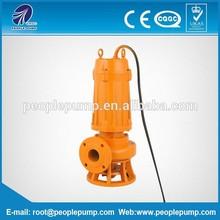 non-clog QW electric sewage submersible pump