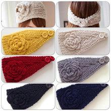 Crochet headband Knitted Hair wrap