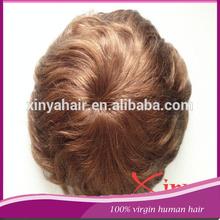 Human hair 100% Swiss lace natural hair wigs man