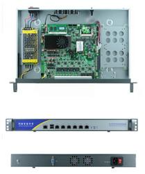 6*1000M Gigabit Ethernet 82583v Network software routing 6 NIC routing software firewall wayos 1U network server