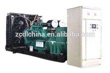 Portable trailer mounted 200kva genset prime power diesel generator