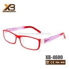 New multi-color flexible reading glasses