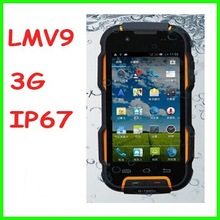 4.02 inch 1G RAM 4G ROM MTK6589 dual sim card Oinom LMV9 Military Rugged Mobile