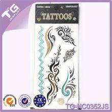 Tatuaje Material de, Temporal del tatuaje que dura largo, Kit del tatuaje del brillo