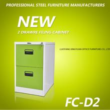 2014 office metal furniture 2 drawer filing cabinet