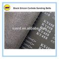 negro carburo de silicio abrasivo rollo y la cinta de lijado para lijadora de banda a p36 p600 grit